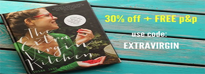 The Extra Virgin Kitchen special offer: 30% off + FREE p&p!