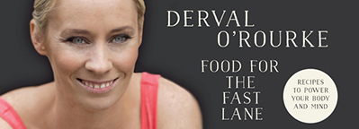 Win a copy of Food For the Fast Lane signed by Derval O'Rourke