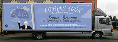 Francis Brennan's 'Counting My Blessings' Book Signing Tour