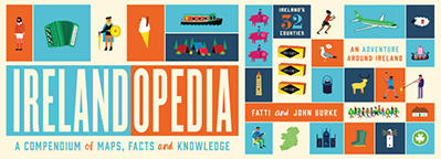 Prizes to be won in the Irelandopedia colouring competition