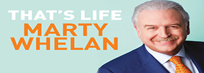 Marty Whelan's Book Signing Tour Dates