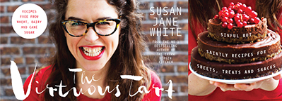 Susan Jane White launches 'The Virtuous Tart'