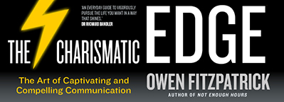 'The Charismatic Edge' is out now - win a signed copy of the book!