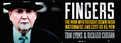 Win a signed copy of 'Fingers' by Tom Lyons & Richard Curran
