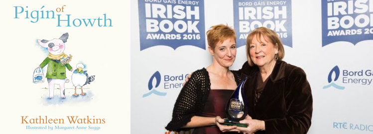 Pigín of Howth Wins Specsavers Children's Book of the Year (Junior) at Irish Book Awards