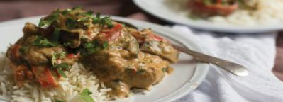 Recipes for a Nervous Breakdown: Thai Chicken Curry