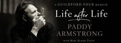 Launch of Guildford Four memoir Life After Life by Paddy Armstrong at Lillie's Bordello