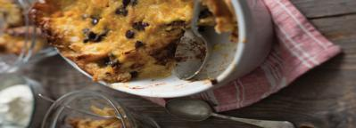 Recipes of a Nervous Breakdown: Chocolate and Orange Bread and Butter Pudding
