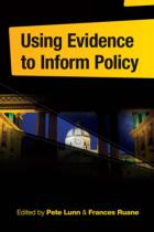 Using Evidence to Inform Policy