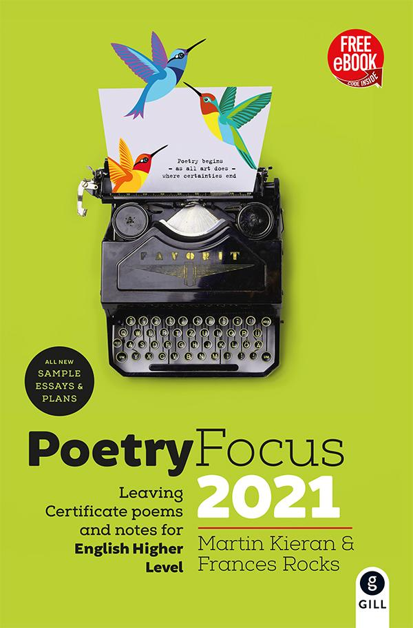 Gill Education - English - Poetry Focus 2021