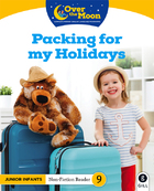 OVER THE MOON Packing for my Holidays