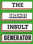 The Irish Insult Generator