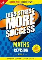 MATHS Revision Junior Cycle Higher Level Book 2